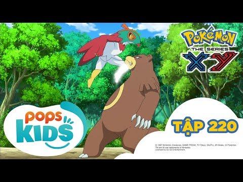 Pokémon Tập 220 - Nhà Vô Địch Của Rừng Xanh! Gặp Gỡ Ruchaburu  - Hoạt Hình Tiếng Việt Pokémon S17 XY - Thời lượng: 21:26.
