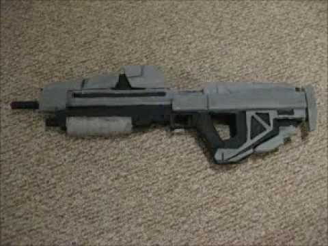 homemade Halo Reach Assailt Rifle/M37 Individual Combat Weapon System