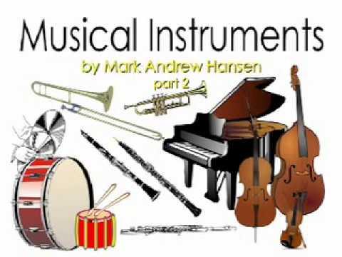 Orchestral Musical Instrument Sounds #2 for Children Kids Preschoolers Kindergarten