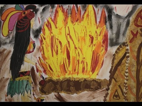 Финалисты конкурса «Нарисуй «Королеву индейцев»