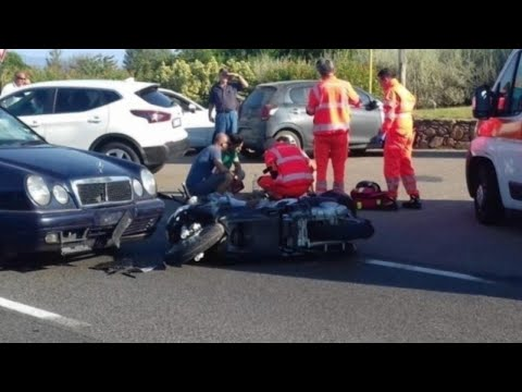 George Clooney Seen Crashing Head-On Into Car
