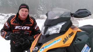 3. TEST RIDE: 2013 Ski-Doo MXZ-X 600 E-TEC