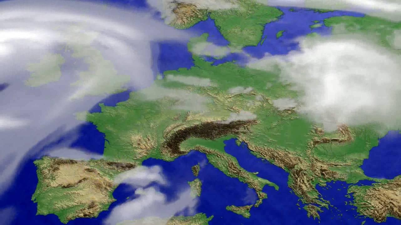 Cloud forecast Europe 2016-07-06