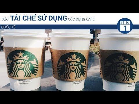 Đức: Tái chế sử dụng cốc đựng cafe | VTC1 - Thời lượng: 79 giây.