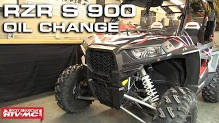 8. Polaris RZR S 900 Oil Change