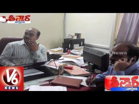 Gandhi Hospital : Doctor NV Ramesh Caught Red-Handed while bribing - Teenmaar News 02 September 2015 01 17 AM