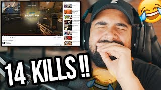 REACTING to my first Rainbow Six Siege video..
