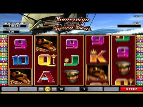 Sovereign of the Seven Seas ™ free slots machine game preview by Slotozilla.com