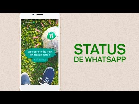 Status bonitos para Whatsapp - Ahora puedes compartir tu 'Status' en WhatsApp con GIFs, garabatos y 'stickers'