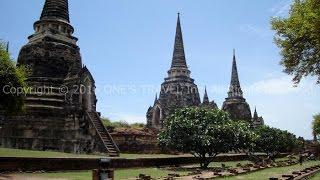 タイの寺院ワットプラシーサンペット