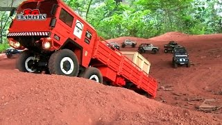 10 Scale Trucks offroad RC 4x4 Adventures - Man Kat scx10 land rover defender 110 rc4wd hilux