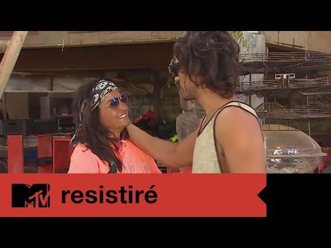 Fotos de amor - MTV Resistiré  ¿El amor es más fuerte? ¡Seba aclaró su relación con Aída!