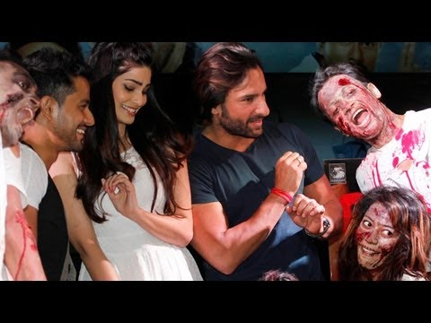 PHOTO PLAY: Saif Makes A Rare Appearance To Promot