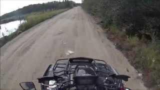 9. Suzuki Kingquad 750 acceleration
