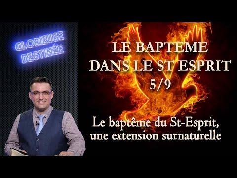 Franck ALEXANDRE - Glorieuse Destinée : Le baptême du Saint Esprit : une extension surnaturelle