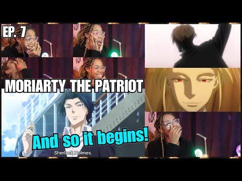 Holmes, Sherlock Holmes!! | Moriarty the Patriot Episode 7 Reaction | Lalafluffbunny