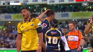 Brumbies v Hurricanes Rd.17 2018 Super rugby video highlights| Super Rugby Video Highlights