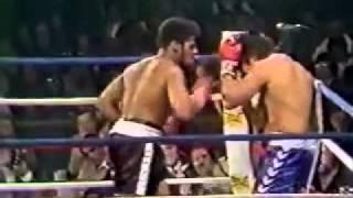 Leon Spinks Knocks Out Evangelista