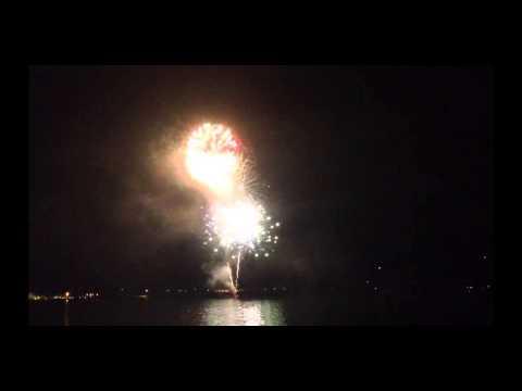 Fuochi d'Artificio sul Lago Maggiore per le Nozze di Montolivo