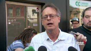 Marc Emery compares raids on cannabis dispensaries to 1981 bathhouse raids in Toronto by Pot TV