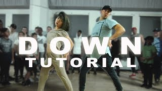 """Fifth Harmony - """"DOWN"""" ft Gucci Mane Dance Tutorial▶ """"DOWN"""" Dance Video: https://youtu.be/_lyHJP5TxWQ▶ INSTAGRAM: http://instagram.com/MattSteffanina▶ DOWNLOAD MY 'DNCR' APP -- http://bit.ly/DNCRAPP▶ TWITTER & SNAPCHAT: @MattSteffaninaIs this video BLOCKED in your country? Find out how you can help me fix it here: https://youtu.be/BI5-VNiY5p8 SOCIALS: @MattSteffanina ▶ TUTORIALS: https://youtube.com/dancetutorialslive▶ INSTAGRAM: http://instagram.com/MattSteffanina▶ TWITTER: http://twitter.com/MattSteffanina▶ WEBSITE: http://MattSteffanina.com▶ BOOKING - MattSteffanina@gmail.com▶ HATS & SHIRTS: http://MattFreestyle.com▶ DOWNLOAD my dance app 'JusMove' for iPhone & Android » http://appsto.re/us/7cHU3.iChoreography by: Matt SteffaninaAssisted by: Bailey & SammieEdited by: Sam SteffaninaFilmed by: Matt Steffanina_____________________________Other Dance/Choreography VIDEOS:""""HAIR"""" - Little Mix ft Sean Paul » https://youtu.be/zO11uVycQCg""""CONTROLLA"""" - Drake » https://youtu.be/UEw20QPFov0""""WORK"""" - Rihanna » https://youtu.be/NEtt7VQwoBc""""FORMATION"""" - Beyonce » https://youtu.be/BdC8M-RVego""""LOVE YOURSELF"""" - Justin Bieber » https://youtu.be/yo_7nQ0sLsw""""SLOW MOTION"""" - Trey Songz » https://youtu.be/ymZvd-0Q_QM""""JUMPMAN"""" - Drake » https://youtu.be/qe1M2FsmgDE""""WHERE ARE U NOW"""" - Justin Bieber » https://youtu.be/H4UFObeHFwI"""