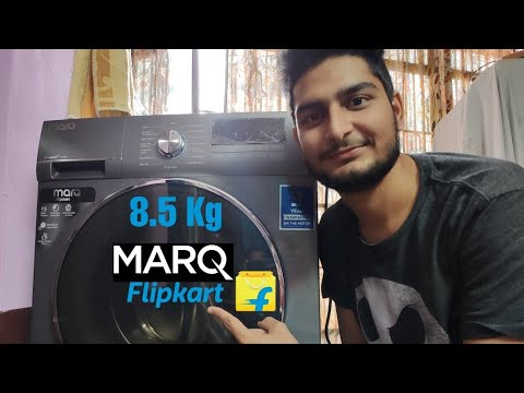 Marq By flipkart 8.5 kg Fully Automatic Washing Machine | Best Front Load Woshing Mashine | Review