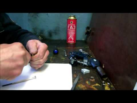 Ремонт газовой горелки видео