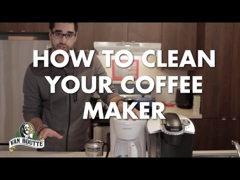 How To Clean Your Coffee Machines