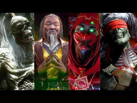 Mortal Kombat 11 - Ermac, Kenshi, Goro & Shang Tsung Cutscenes (MK11) - Thời lượng: 2 phút và 3 giây.