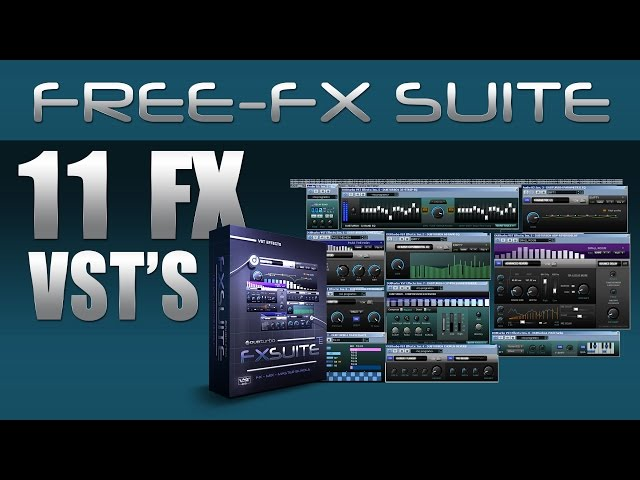 FREE FX VST's - Echo delay, comp/expand, gate, 32 & 60 band EQ, pitch shifter & drifter, Chor/Rev