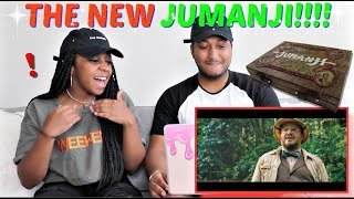 Video JUMANJI: WELCOME TO THE JUNGLE - Official Trailer (HD) REACTION!!!! MP3, 3GP, MP4, WEBM, AVI, FLV Mei 2018