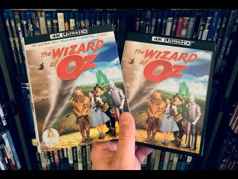 The Wizard of Oz 4K BLU RAY REVIEW + Unboxing & Screenshots