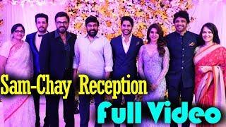 Video Celebs Attend Samantha Chaitanya Wedding Reception | Sam-Chay Reception FULL Video | Teluguz TV MP3, 3GP, MP4, WEBM, AVI, FLV November 2017