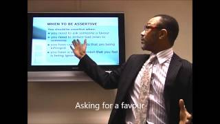 Part 1 - How to be more Assertive