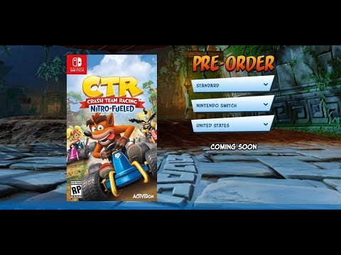 Exclusive Pre-Order Bonus For Crash Team Racing Nitro Fueled Announced