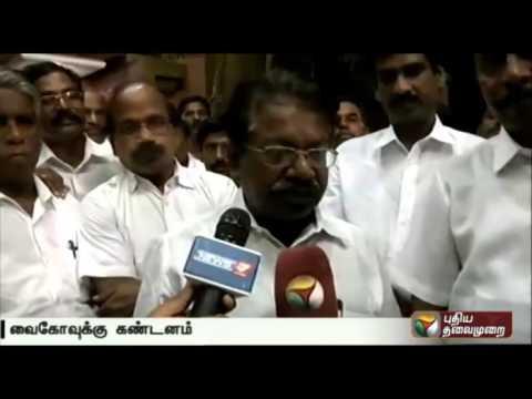 DMK-spokesperson-TKS-Elangovan-condemns-Vaikos-statement-regarding-DMK-leader-Karunanidhi