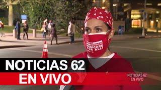 Vigilia y protesta silenciosa en homenaje a victimas del coronavirus – Noticias 62 - Thumbnail