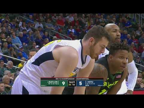 NCAAB 03 09 2018 Baylor vs West Virgina Big 12 Tournament 720p