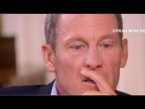 Lance Armstrong Breaks Down: Question Pushes Cyclist to Brink