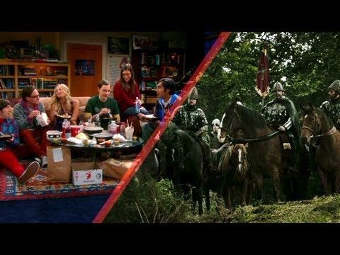 EMMYs Mash-Up: The Big Bang Theory + Vikings