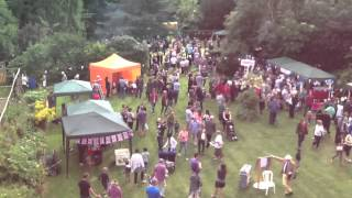 Berden Fete 2013, Time-lapse from main lawn