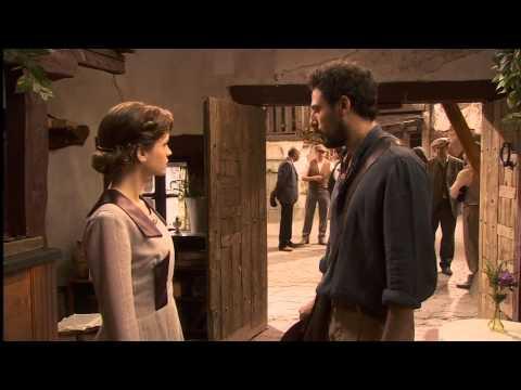 il segreto - conrado da un ultimatum a sua moglie alicia