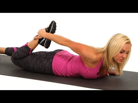 Leg Stretches: Prone Quad Stretch | Sexy Legs Workout
