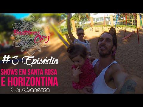 Bastidores CeV ✿ Shows em Santa Rosa e Horizontina | Claus e Vanessa OFICIAL