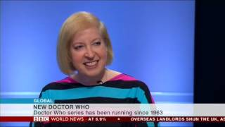Script writer, Gail Renard and Doctor Who fan, Kezia Newson are interviewed by BBC World about the new female Doctor Who, ...