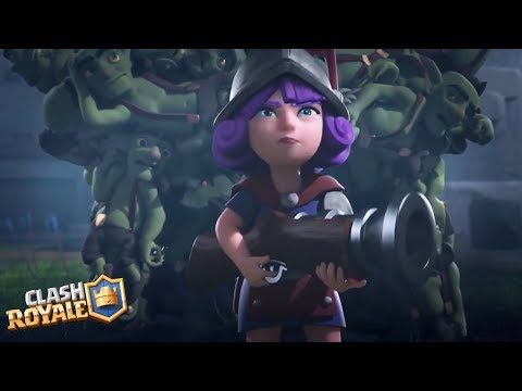 Clash Royale Movie 2018 (FULL HD)   New Fan Edit Animations   Best Clash Commercials