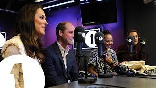 Video The Duke and Duchess of Cambridge surprise Radio 1's Adele Roberts MP3, 3GP, MP4, WEBM, AVI, FLV Oktober 2018