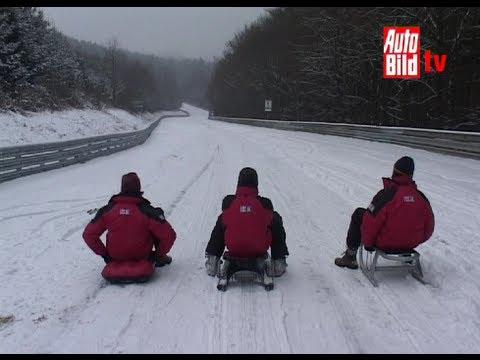 Gipfeltreffen auf dem Nürburgring: Schlittentest