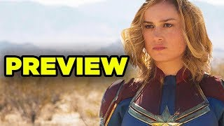 CAPTAIN MARVEL First Look - Details You Missed!