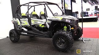 9. 2018 Polaris RZR 4 900 Side by Side ATV - Walkaround - 2017 Drummondville ATV Show